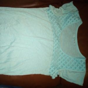 Cute Maurice's baby blue top small